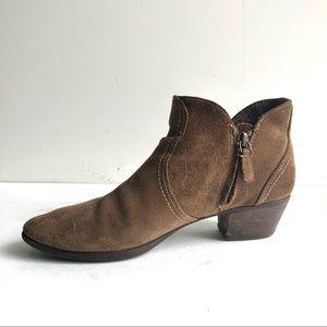 Ariat Astor Booties Suede Leather Short Boot 7.5